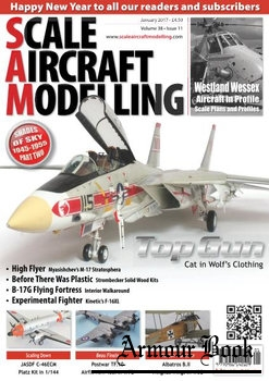 Scale Aircraft Modelling 2017-01 (Vol.38 No.11)