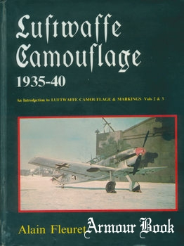 Luftwaffe Camouflage 1935-1940 [Kookaburra Technical Publications]