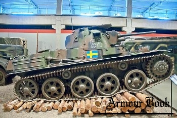 Stridsvagn m/38 [Walk Around]