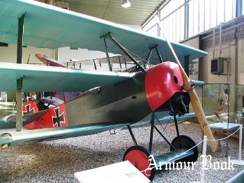 Fokker Dr.1 [Walk Around]