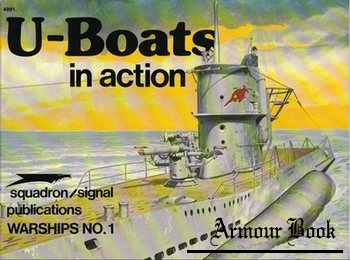 U-Boats in Action [Squadron Signal 4001]