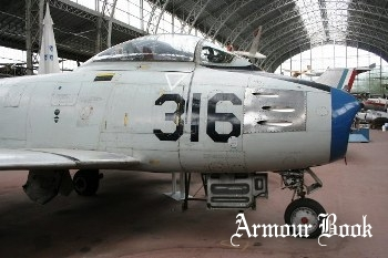 North American F-86F Sabre [Walk Around]