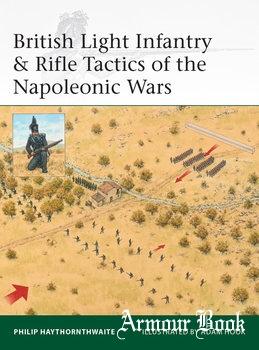 British Light Infantry & Rifle Tactics of the Napoleonic Wars [Osprey Elite 215]