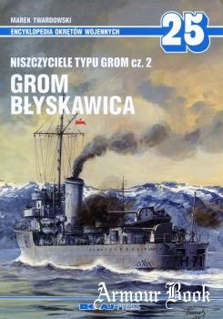 Niszczyciele typu Grom Cz.2: Grom, Blyskawica [AJ-Press Encyklopedia Okretow Wojennych 25]