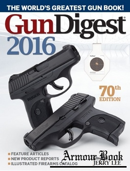 Gun Digest 2016, 70th edition