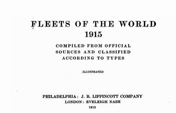 Fleets of the World 1915 [J. B. Lippincott Company]
