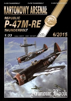 Republic P-47M-RE Thunderbolt [Halinski KA 6/2015]