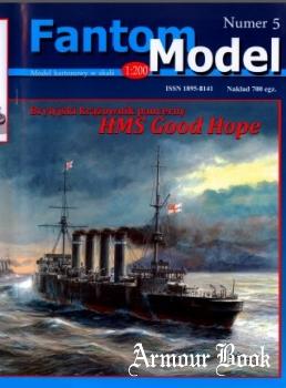 HMS Good Hope Brytyjski krazownik pancerny [Fantom Model 05]