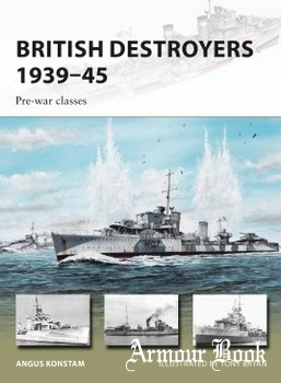 British Destroyers 1939-1945: Pre-war Classes [Osprey New Vanguard 246]
