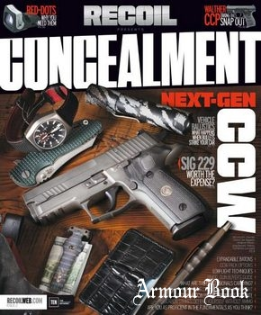 Recoil presents - Concealment - Issue 2 2015