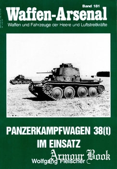 Panzerkampfwagen 38(t) im Einsatz [Waffen-Arsenal 181]