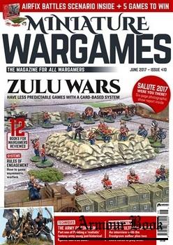 Miniature Wargames 2017-06