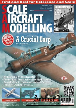 Scale Aircraft Modelling 2017-07 (Vol.39 No.05)