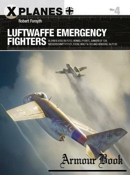 Luftwaffe Emergency Fighters [Osprey X-Planes 4]