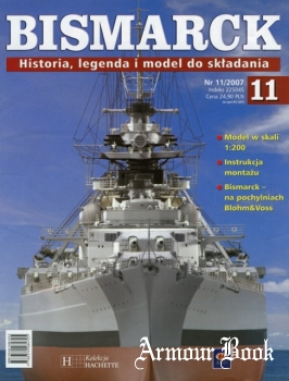 Bismarck. Historia, legenda i model do skladania 11