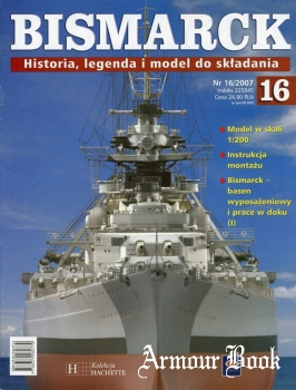 Bismarck. Historia, legenda i model do skladania 16