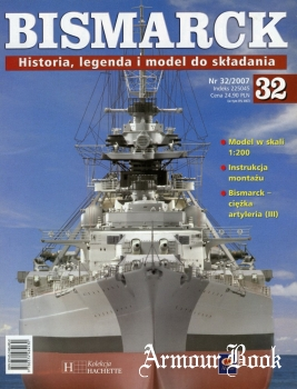 Bismarck. Historia, legenda i model do skladania 32