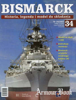 Bismarck. Historia, legenda i model do skladania 34