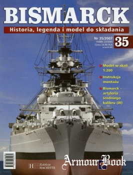 Bismarck. Historia, legenda i model do skladania 35