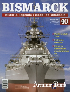Bismarck. Historia, legenda i model do skladania 40