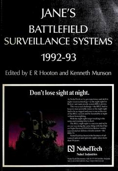 Jane's Battlefield Surveillance Systems 1992-93 [Jane's Information Group]