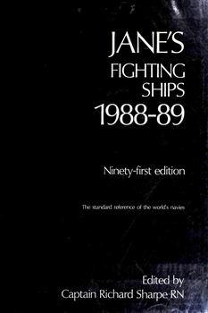 Jane's Fighting Ships 1988-89 [Jane's Publishing Company]