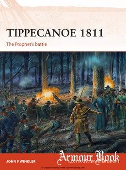 Tippecanoe 1811: The Prophet's Battle [Osprey Campaign 287]