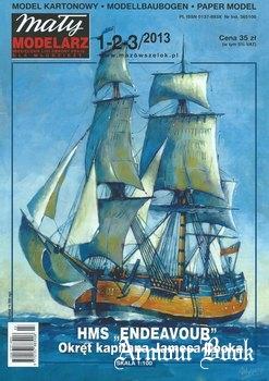 HMS Endeavour [Maly Modelarz 2013-01/02/03]