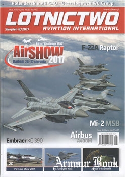 Lotnictwo Aviation International 08/2017