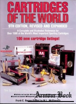 Cartridges Of The World 9th Edition, Revised And Expanded [DBI Books Inc.]