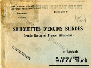 Silhouettes d'Engins Blindes (Grande-Bretagne, France, Allemagne) [Commandement en Chef des Forces Terrestres]