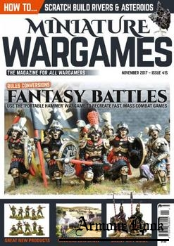 Miniature Wargames 2017-11