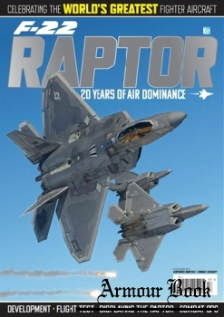 F-22 Raptor: 20 Years of Air Dominance [Key Publishing]
