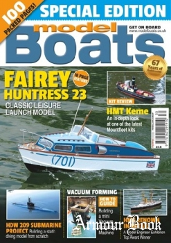 Model Boats - Winter 2017