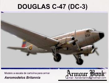 DC-3 (C-47) [Aeromodelos Britannia]