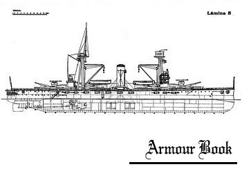 Чертежи Acorazado Espana, Jaime I, Alfonso XIII