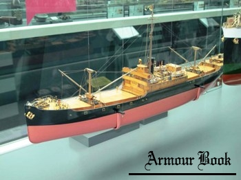 Ship Model - D Type Merchant Vessel Photos