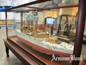 Ship Model - Battleship USS Maine BB-10 Model Photos