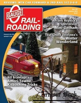 O Gauge Railroading 2018-01