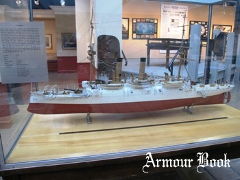 Ship Model - Protected Cruiser USS Atlanta Model Photos