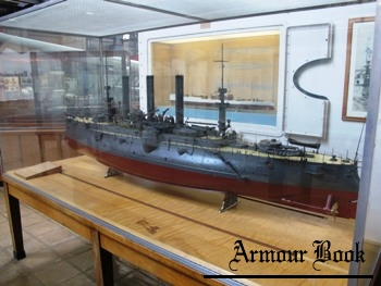 Ship Model - Armored Cruiser USS Brooklyn ACR-3 Model Photos