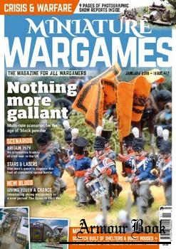 Miniature Wargames 2018-01