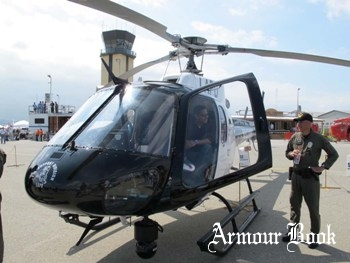 Eurocopter AS350B2 Ecureuil [Walk Around]