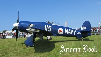 Hawker Sea Fury FB 11 [Walk Around]