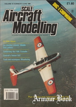 Scale Aircraft Modelling 1991-06 (Volume 13 Number 9)