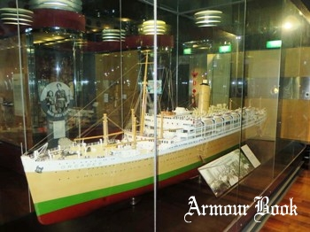Ship Models - Ocean Liner RMS Orcades Photos