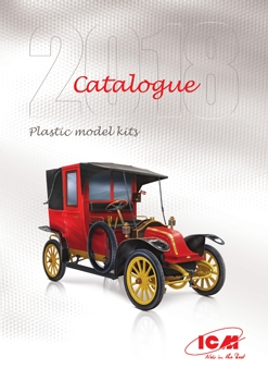 ICM Plastic Model Kits Catalogue 2018