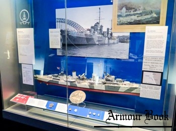 Ship Models - Light Cruiser HMAS Sydney (D48) Photos