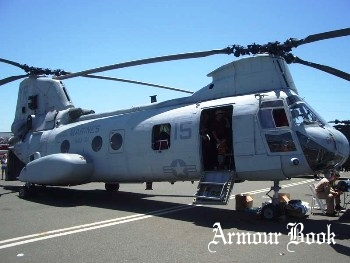 Boeing CH-46E Sea Knight [Walk Around]
