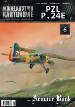 PZL P.24E [Modelarstwo Kartonowe]